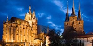 Schüler Altstadtführung Erfurt in einer Fremdsprache